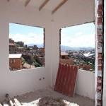 Flere bilder fra bygningsarbeidet