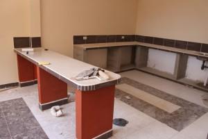 Kjøkkenet i 1.etg., for opplæring i baking og matlaging.